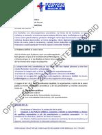 Simulacro examen oposiciones técnico analisis clinicos