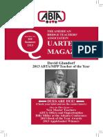 208 ABTA Quarterly Summer 2013