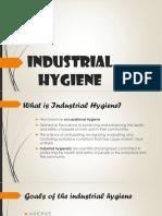 Industrial Hygiene1