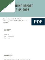 Morning report dr. Alders - 13519 ansieta liberty.pptx