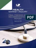 Health Market Inquiry