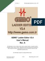 Gemo PLC Manual