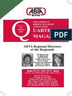 204 ABTA Quarterly Summer 2012