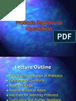 Lecture 7 Probiotic Bacteria for Aquaculture
