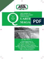 ABTA Quarterly Spring 2011