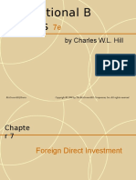Foriegn Direct Investment-lecture 6