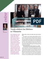 Reportaje realizado a la Conferencia San Vicente de Villamartin
