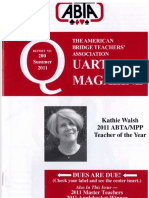 ABTA Quarterly Summer 2011
