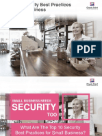 Small Business Top 10 Security Best Practices