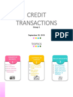 Credit transaction