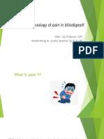 Pathophysiology of Pain in Biliodigesti