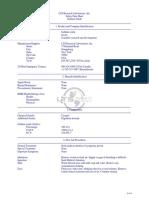 Ga2O3 Safety Datasheet