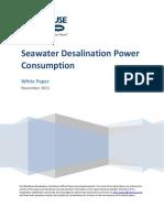 Seawater DesalinationPower Consumption.pdf