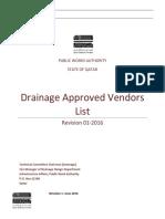 Jan 2016-Approved Vendor List June