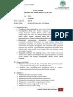 BAHAN Ajar KD 3.1 Konsep Wilayah Dan Tata Ruang