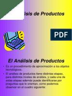 El Analisis de Productos - 4ta Cohorte