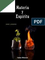Daniel Lapazano - Materia y Espíritu.pdf