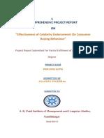 139383197-Final-Project-on-effectiveness-of-celebrity-endorsement-on-consumer-Behaviour.docx