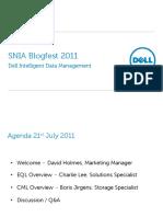 Dell Blogfest 2011