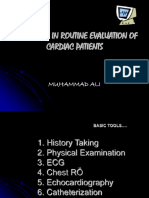 Basic Tools in Routine Evaluation of Cardiac Patients