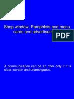 file 2 Shop window pamphlets menu card.pptx