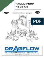 Dragflow - HYDRAULIC PUMP HY 35 A/B