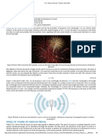 Speed of Sound - Physics LibreTexts