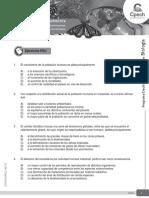 Guía El Crecimiento de La Población Humana y Su Efecto en El Ecosistema