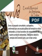 Objetivos Escuela Municipal de Artesanías Trelew