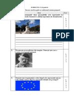 examen copii cu CES istorie