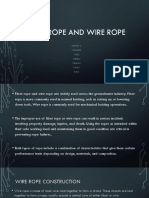 Fiber Rope and Wire Rope