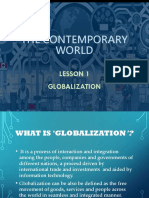 Lesson1 Globalization