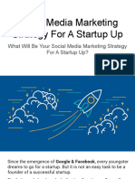 Social Media Marketing Strategy for a Startup Up