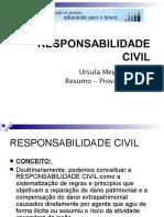 Resumo Responsabilidade Civil Compila o Aulas 1 Parte