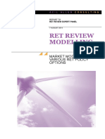 ACIL RET Review Modelling - Executive Summary