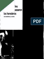-Bourdieu-Passeron - Los Herederos