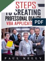 7 Steps to Creating Professional Quality Vba Macros