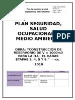 Qhse.pln.002 Plan Se Seguridad y Salud en El Trabajo Reservorio Haras