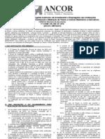 Edital Abertura de Inscrição 3º Exame On-line-2010
