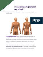 Escoliosis Lumbar