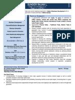 Resume of Sunder Rajan L..doc