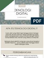 Ppt teknologi digital fisika kelas 12