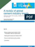 Información Industria Cementera