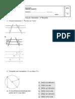 prova de geometria 8° ano 3° bim