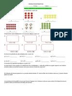 Prueba de Matematicas Multiplicaciones