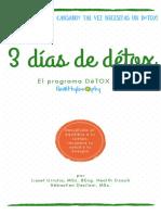 Tu guía détox de tres días Healthylosophy.pdf