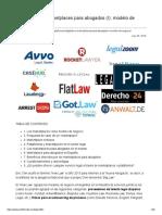 Marketplace para abogados