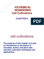 Bio chemical cell cultivation