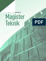 Brosur Magister S2 2019