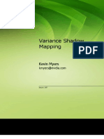 Variance Shadow Mapping